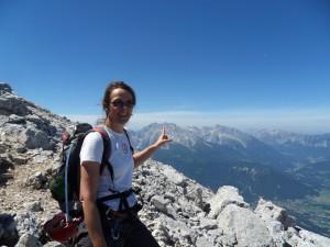 Gipfelanstieg Hoher Göll (2.522 m)