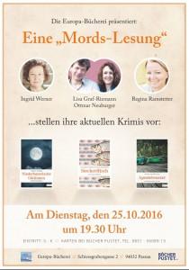 Steckerlfisch Lesung Passau